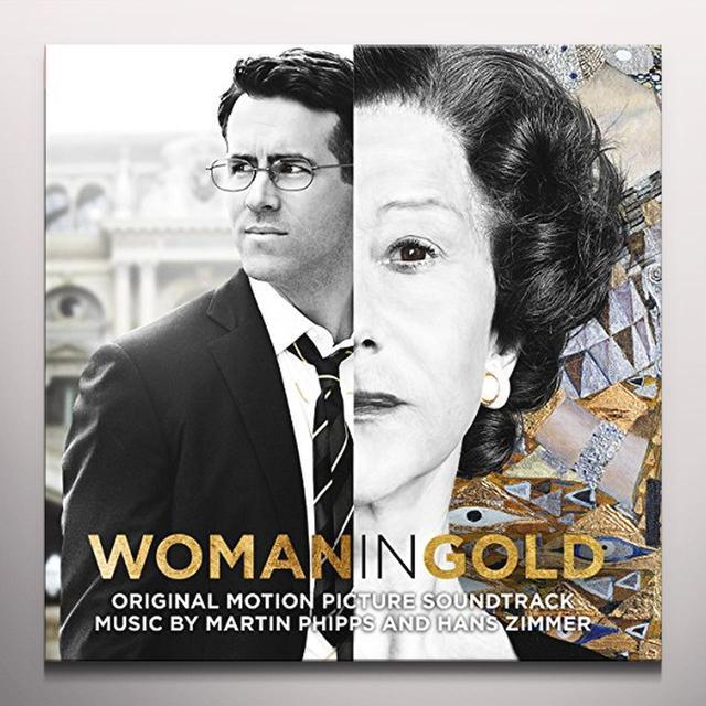Hans Zimmer & Martin Phipps WOMAN IN GOLD / O.S.T. Vinyl Record - Colored Vinyl, Gatefold Sleeve, 180 Gram Pressing