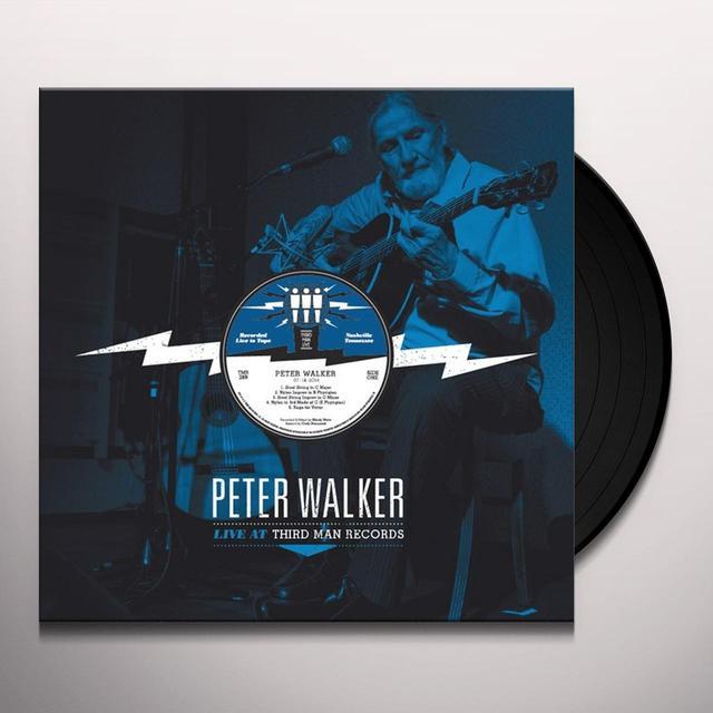 Peter Walker LIVE AT THIRD MAN Vinyl Record