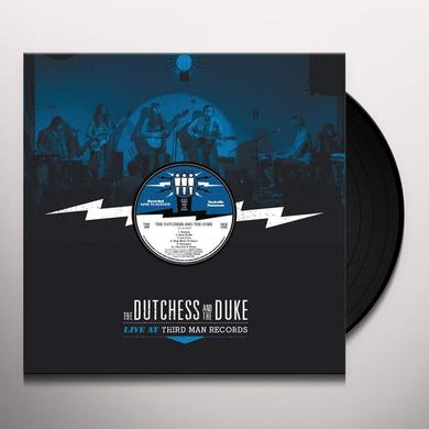 DUCHESS & THE DUKE LIVE AT THIRD MAN Vinyl Record