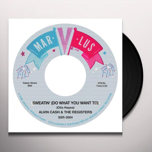 Alvin Cash & The Registers SWEATING / INSTRUMENTALS Vinyl Record