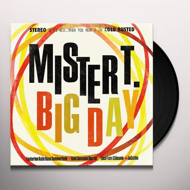 Mister T. BIG DAY Vinyl Record