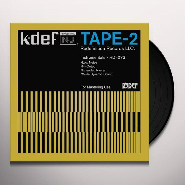 K-Def TAPE TWO Vinyl Record