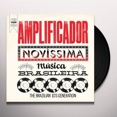 AMPLIFICADOR: NOVISSIMA MUSICA BRASILEIRA / VAR Vinyl Record