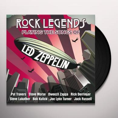 ROCK LEGENDS/LED ZEPPELIN / VARIOUS (HOL) ROCK LEGENDS/LED ZEPPELIN / VARIOUS Vinyl Record - Holland Import