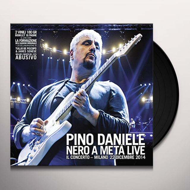 Pino Daniele NERO A META LIVE-IL CONCERTO-MILANO (GER) Vinyl Record