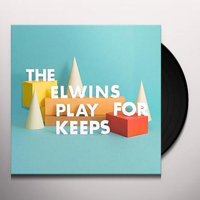 The Elwins PLAY FOR KEEPS Vinyl Record