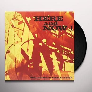 Lesiman HERE & NOW VOL. 1 Vinyl Record - Italy Release