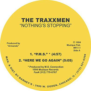 TRAXXMEN NOTHINGS STOPPING EP Vinyl Record