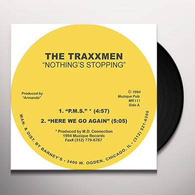 TRAXXMEN NOTHINGS STOPPING EP Vinyl Record