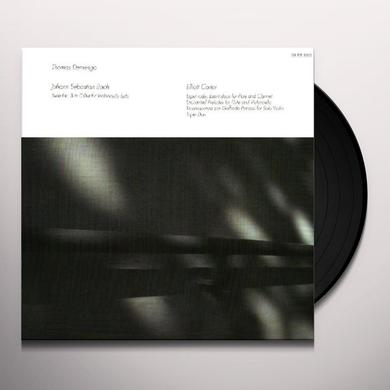 BACH/CARTER THOMAS DEMENGA Vinyl Record