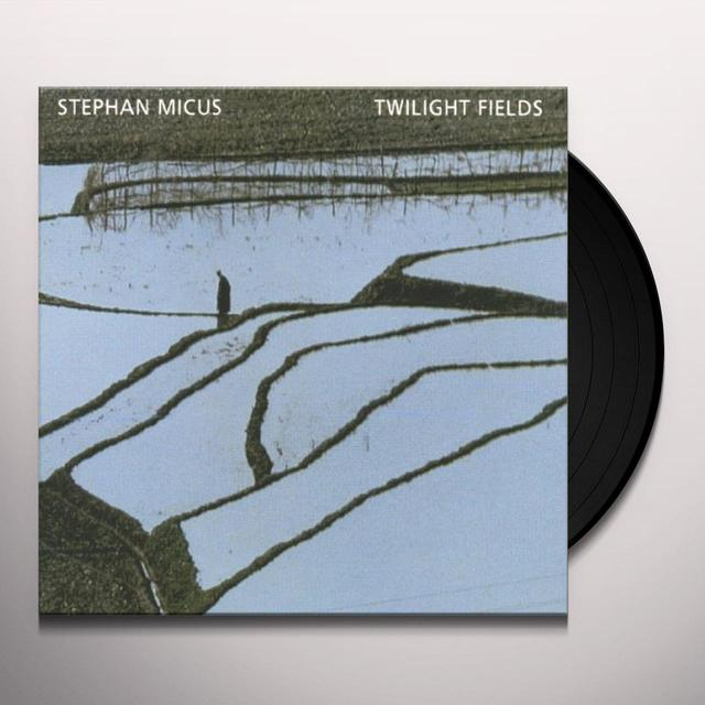 Stephan Micus TWILIGHT FIELDS Vinyl Record - Spain Import