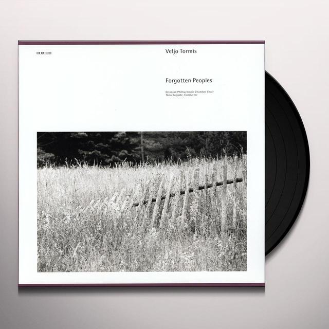 TORMISV. FORGOTTEN PEOPLES Vinyl Record - Spain Import