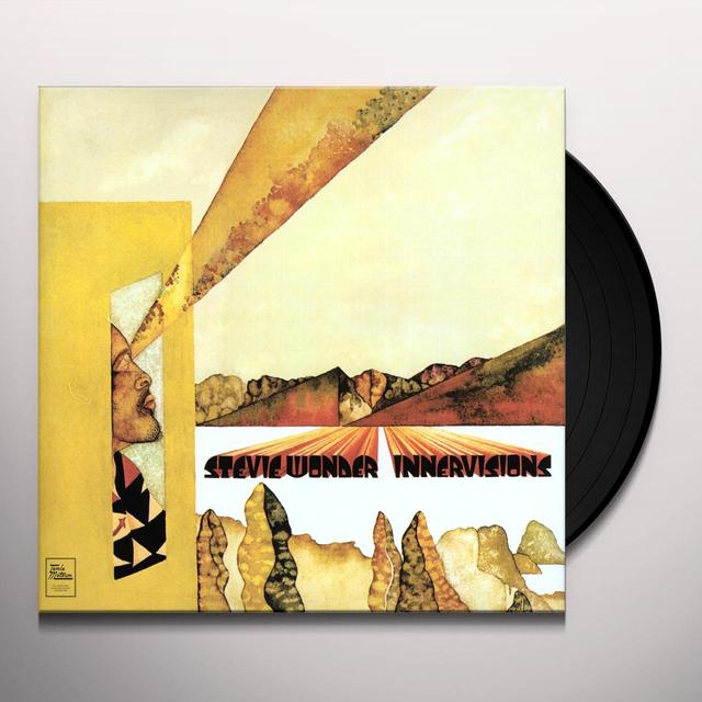 Stevie Wonder INNERVISIONS Vinyl Record - UK Import