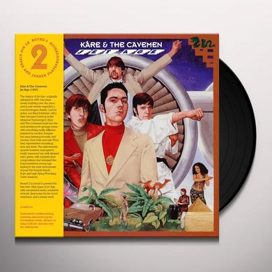 KARE & THE CAVEMEN JET AGE (BONUS TRACK) Vinyl Record - Remastered