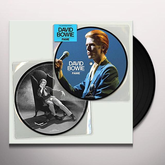 David Bowie FAME (40TH ANNIVERSARY PICTURE DISC) Vinyl Record - Picture Disc, Anniversary Edition
