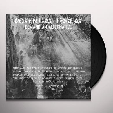Potential Threat DEMAND AN ALTERNATIVE Vinyl Record