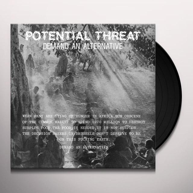Potential Threat DEMAND AN ALTERNATIVE Vinyl Record