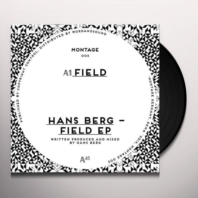 Hans Berg FIELD (EP) Vinyl Record