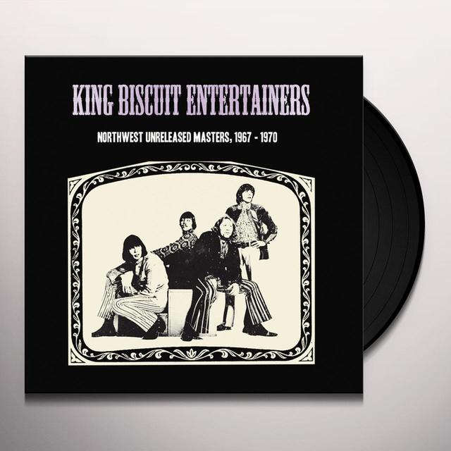 KING BISCUIT ENTERTAINERS NORTHWEST UNRELEASED MASTERS 1967-1970 Vinyl Record