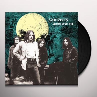 SABATTIS WARNING IN THE SKY Vinyl Record