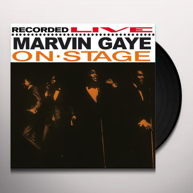 Marvin Gaye ON STAGE Vinyl Record