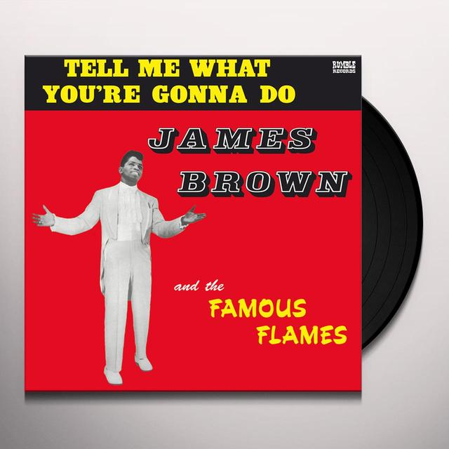 James Brown TELL ME WHAT YOU'RE GONNA DO Vinyl Record