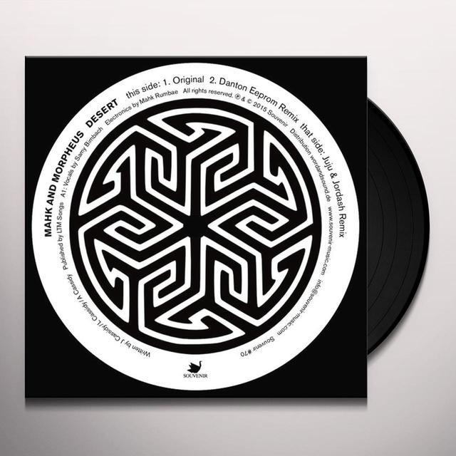 MAHK & MORPHEUS DESERT Vinyl Record