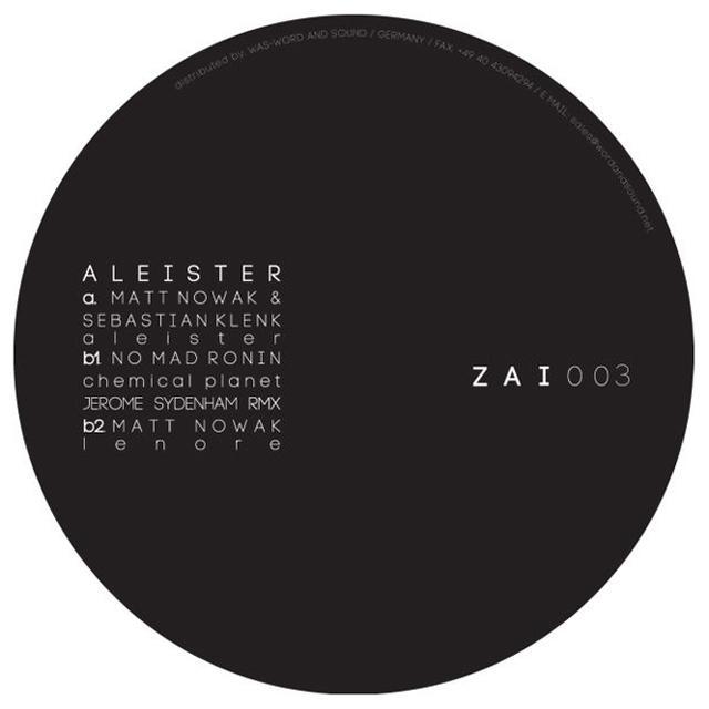Matt Nowak ALEISTER Vinyl Record