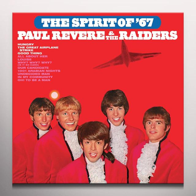 Paul Revere & Raiders SPIRIT OF 67 Vinyl Record