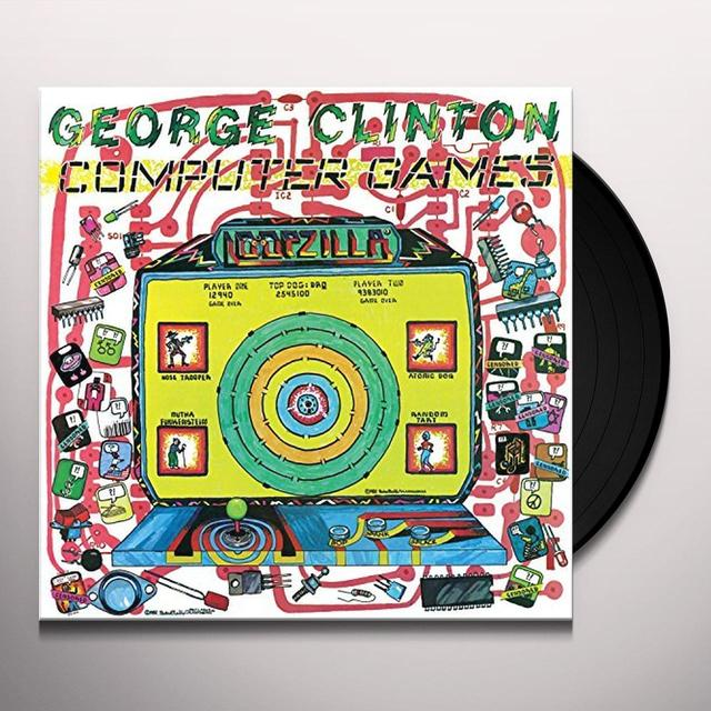 George Clinton COMPUTER GAMES Vinyl Record