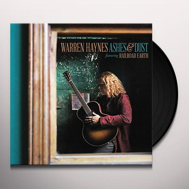 Warren Haynes ASHES & DUST (FEAT RAILROAD EARTH) Vinyl Record