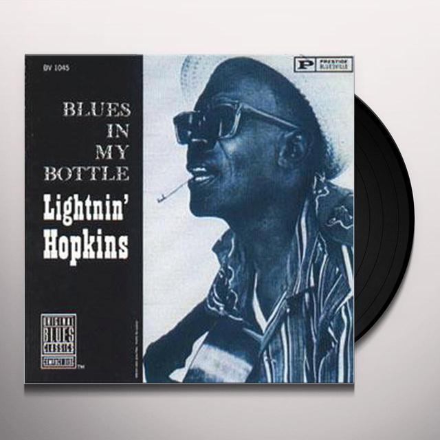 Sam Lightnin Hopkins BLUES IN MY BOTTLE Vinyl Record