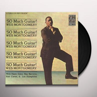 Wes Montgomery SO MUCH GUITAR Vinyl Record