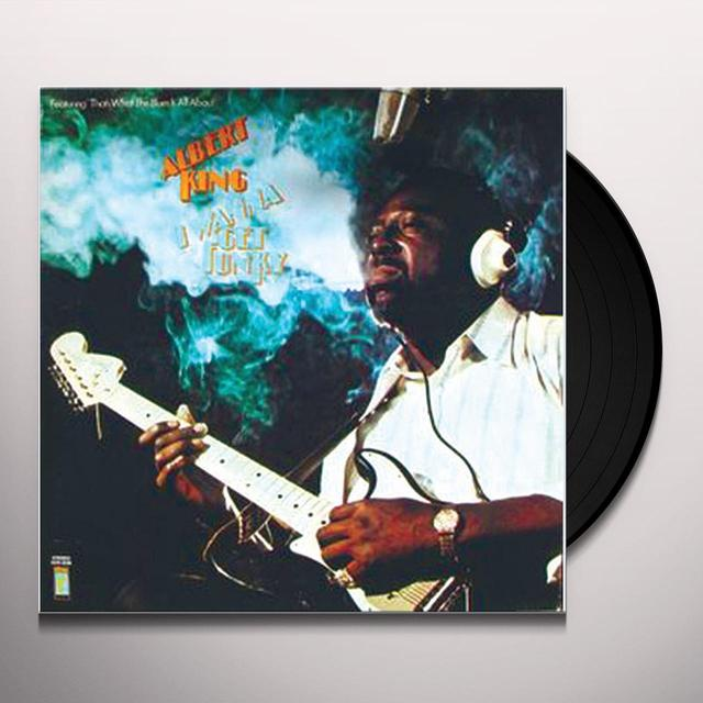 Albert King I WANNA GET FUNKY Vinyl Record