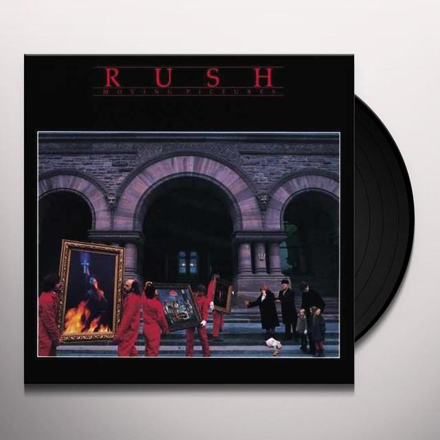 Rush MOVING PICTURES Vinyl Record