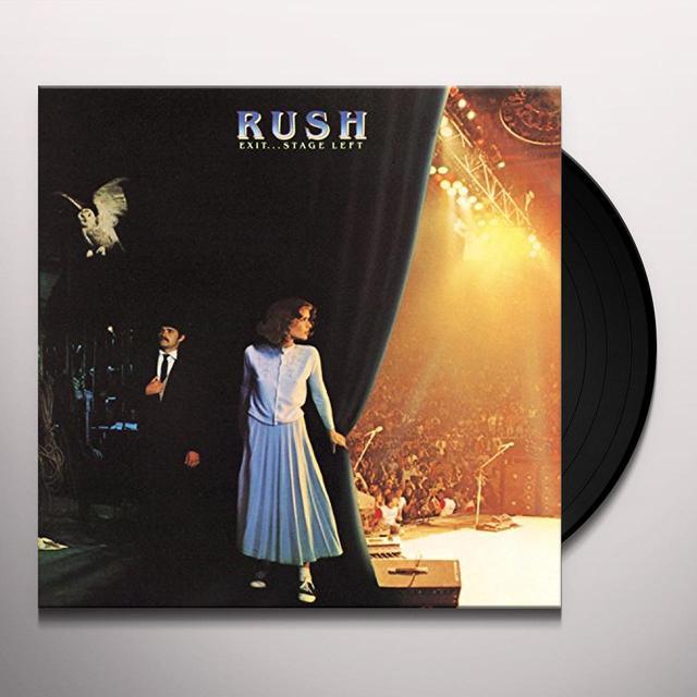 Rush EXIT STAGE LEFT Vinyl Record