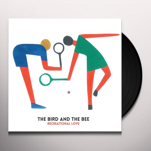 BIRD & THE BEE RECREATIONAL LOVE Vinyl Record