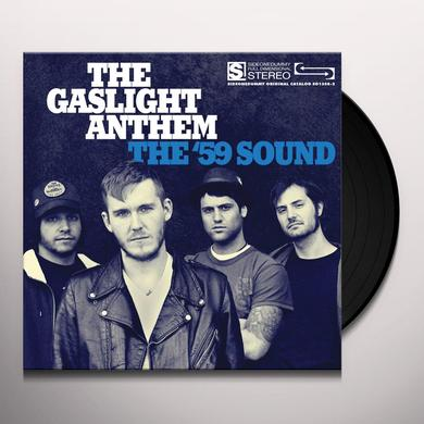 The Gaslight Anthem 59 SOUND Vinyl Record - Gatefold Sleeve, Limited Edition