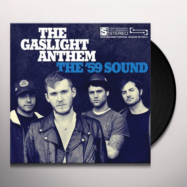 The Gaslight Anthem 59 SOUND Vinyl Record - Gatefold Sleeve, Limited Edition