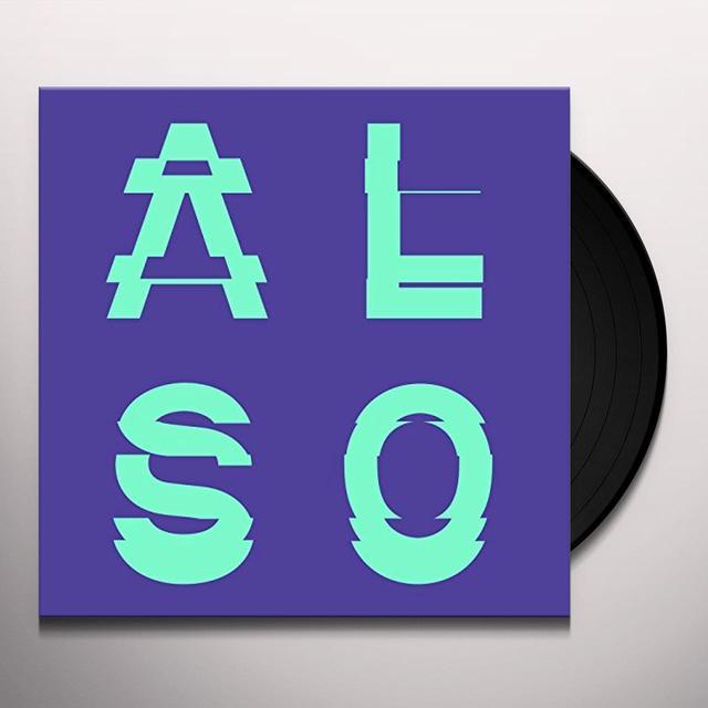 ALSO EP01 Vinyl Record - UK Import
