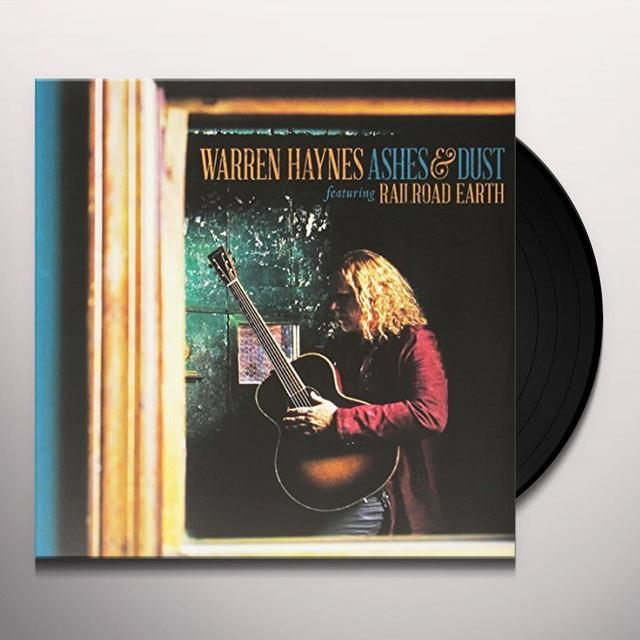 Warren Haynes ASHES & DUST Vinyl Record - UK Import