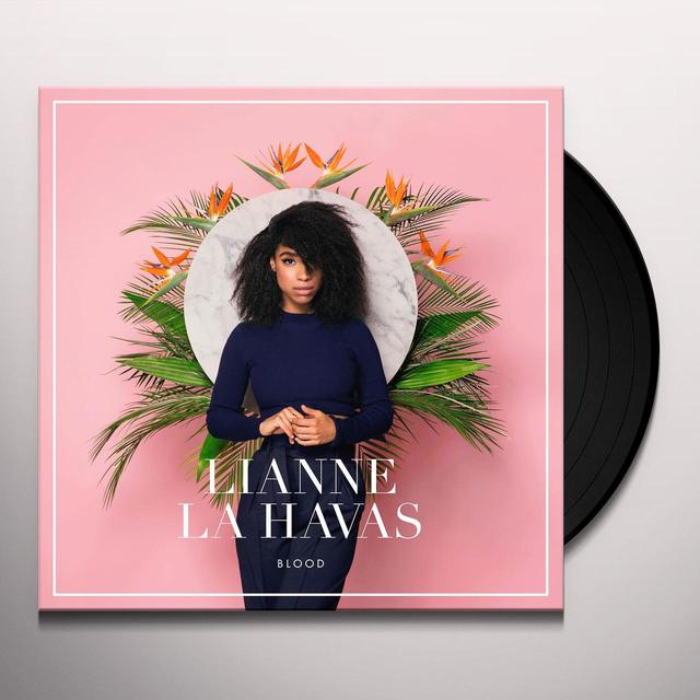 Lianne La Havas BLOOD (31/7) Vinyl Record - UK Release