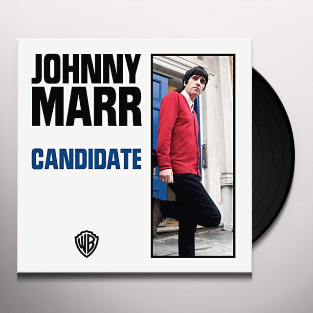 Johnny Marr CANDIDATE Vinyl Record - UK Release