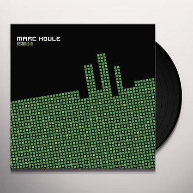 Marc Houle RESTORED EP3 (EP) Vinyl Record