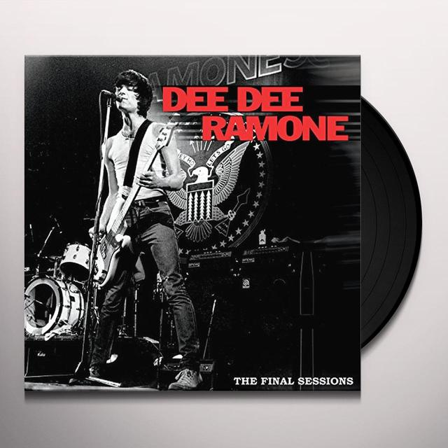 Dee Dee Ramone FINAL SESSIONS Vinyl Record