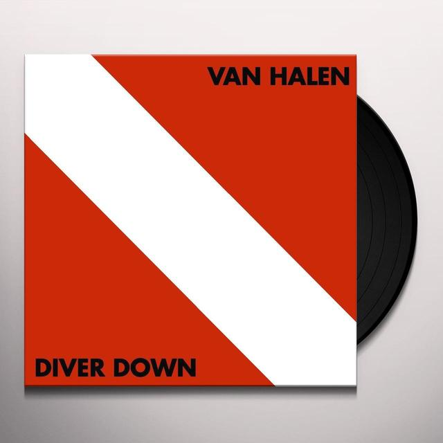 Van Halen DIVER DOWN Vinyl Record - 180 Gram Pressing, Remastered