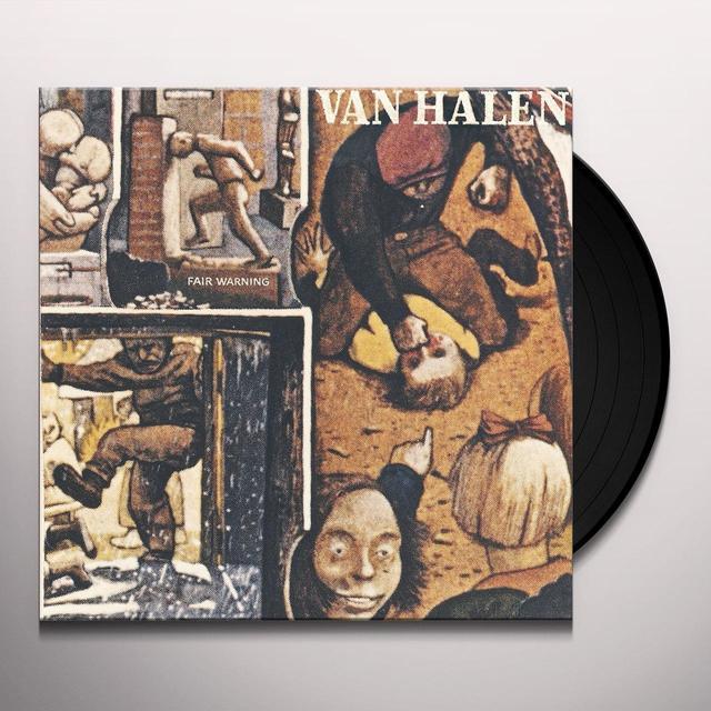 Van Halen FAIR WARNING Vinyl Record - 180 Gram Pressing, Remastered