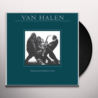 Van Halen WOMEN & CHILDREN FIRST Vinyl Record - 180 Gram Pressing, Remastered