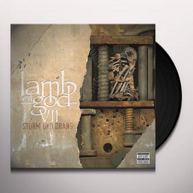 Lamb Of God VII: STURM UND DRANG Vinyl Record - Gatefold Sleeve
