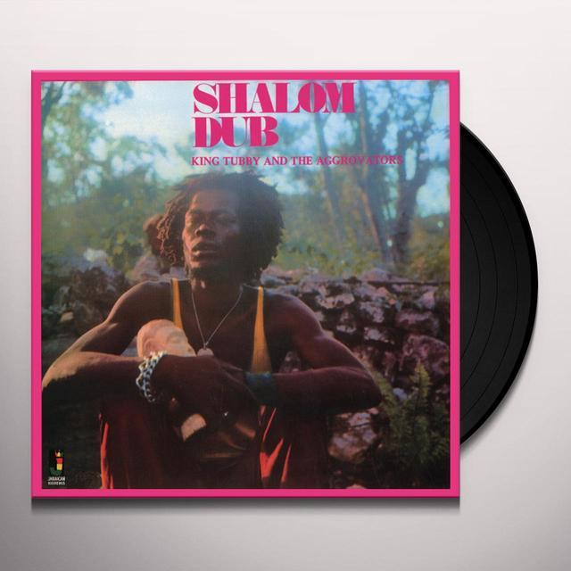 King Tubby & The Aggrovators SHALOM DUB Vinyl Record
